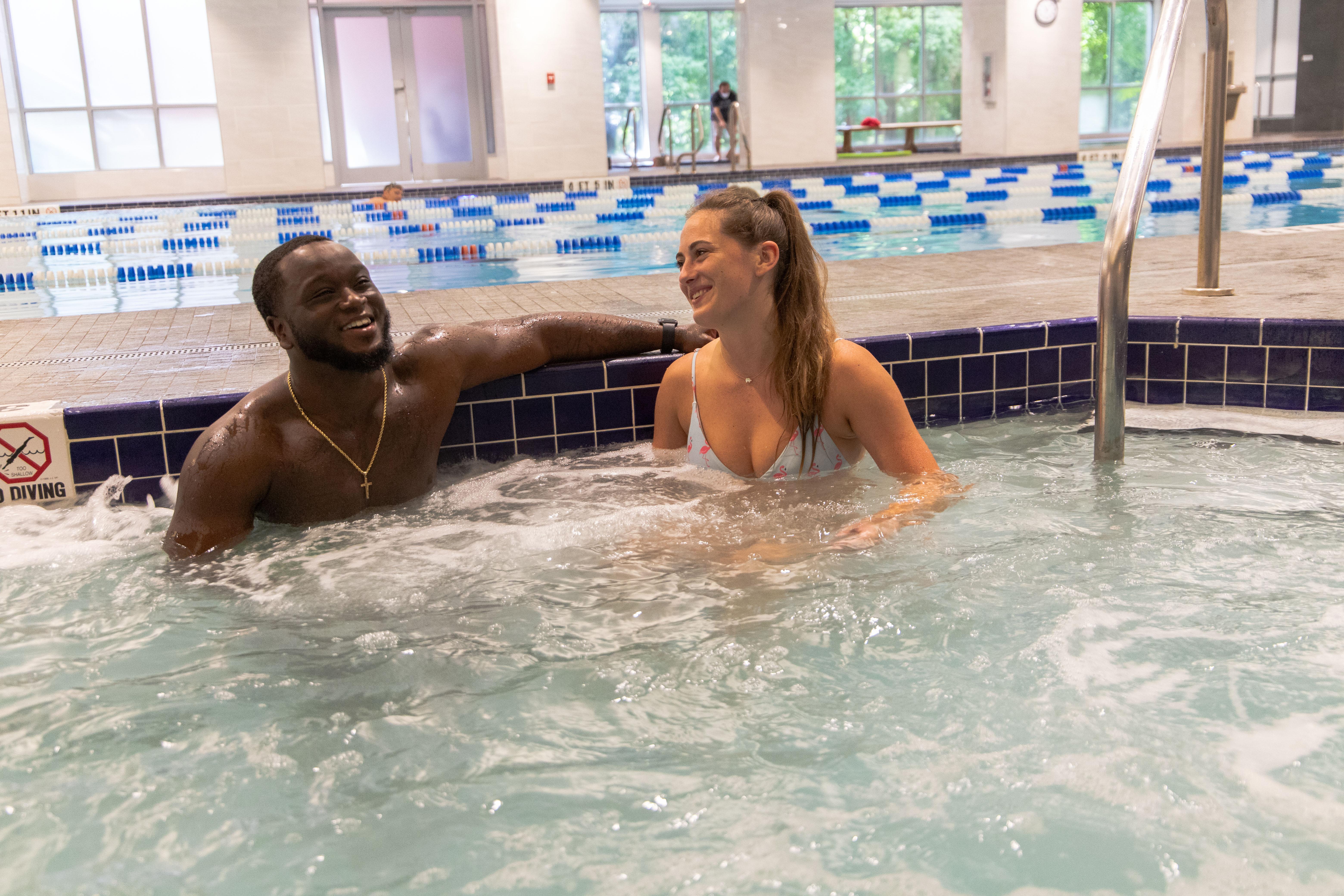 Indoor Swimming Pool And Aquatics Gainesville Health Fitness