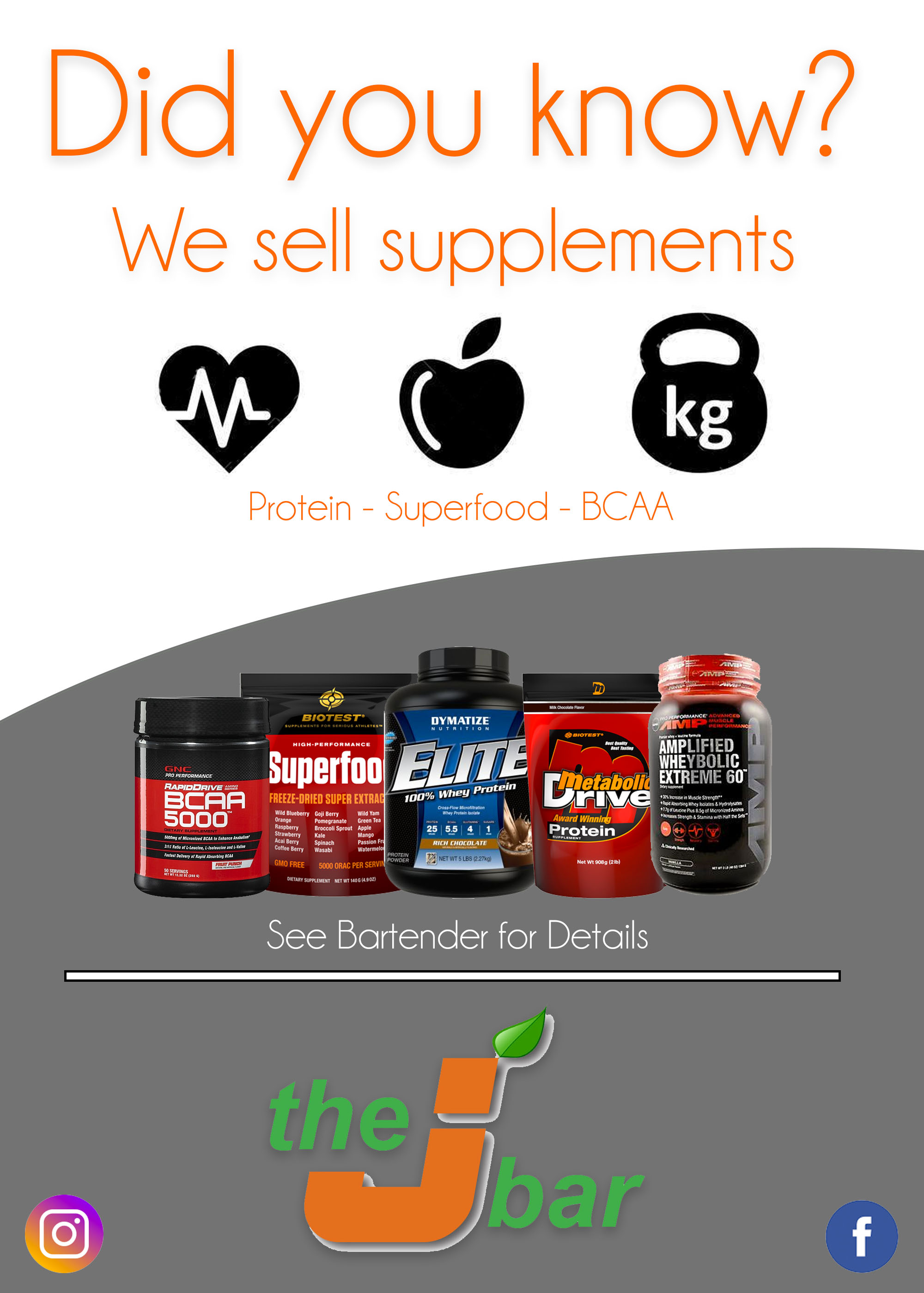 We Sell Supplements