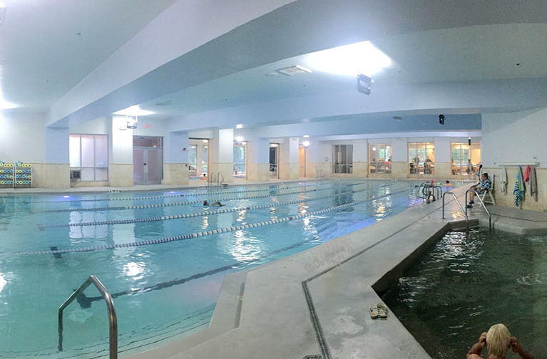 main center gym indoor fitness pool