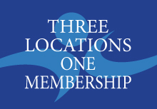 3 Locations with One Membership