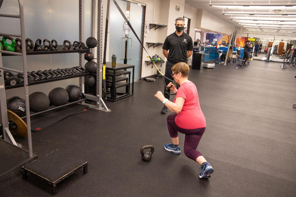 Personal Training at GHF one on one