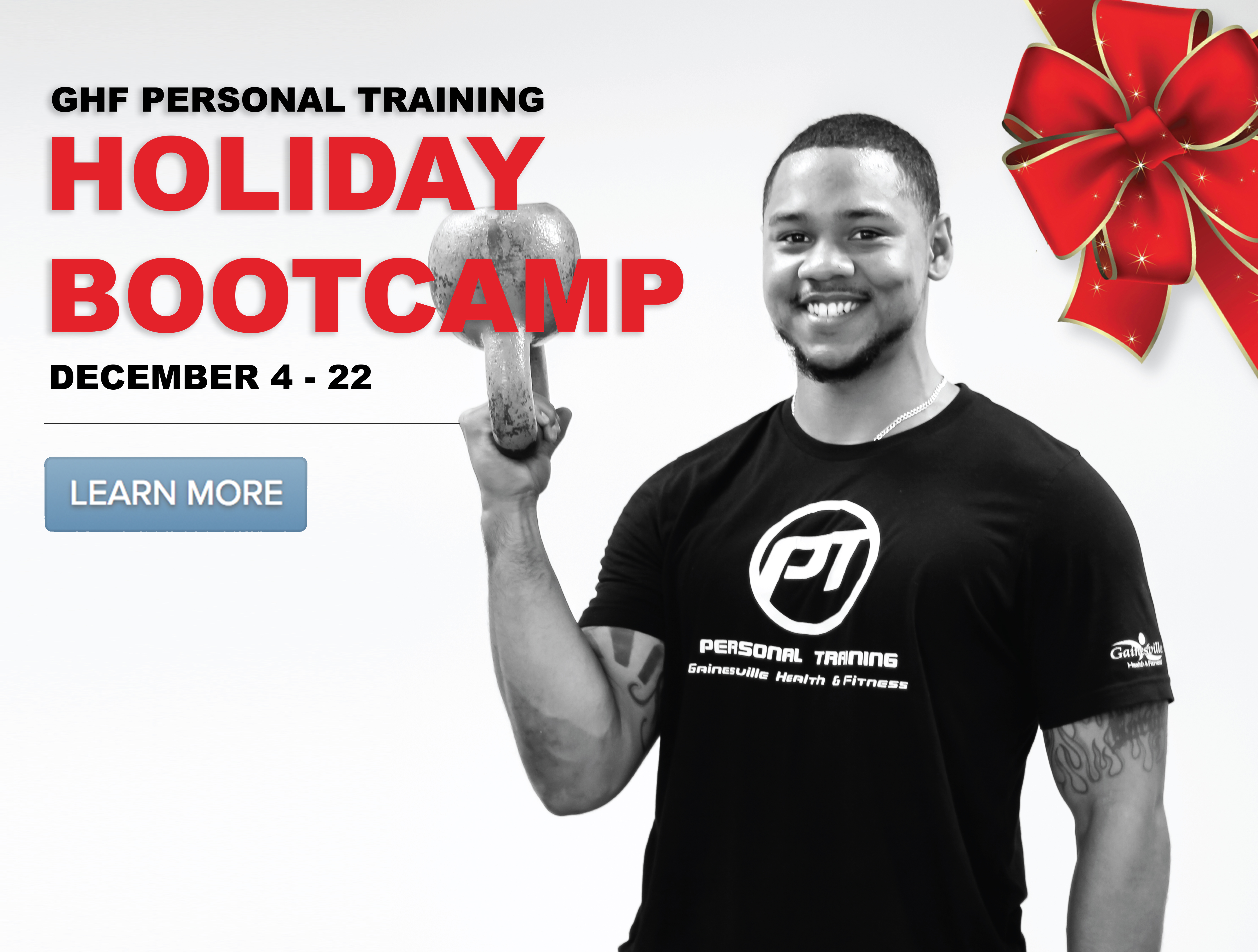 Holiday Boot Camp with GHF Personal Training at Gainesville Health