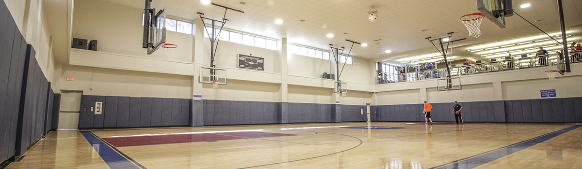 Main Center Indoor Basketball Court