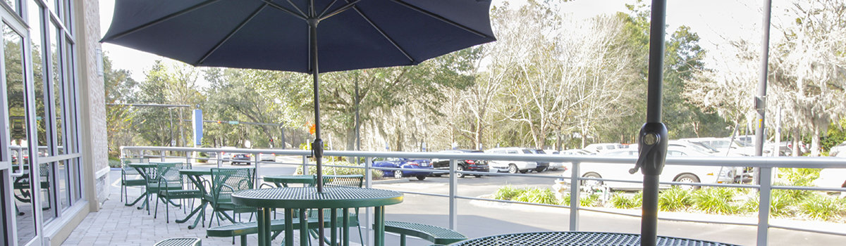 Outdoor Patio at GHF Main Center