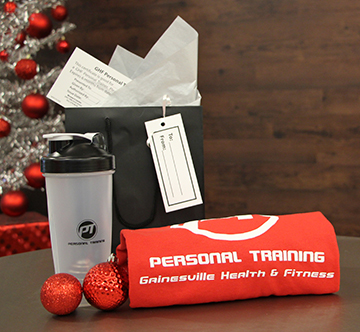 Personal Training Holiday Gift Bag 2014