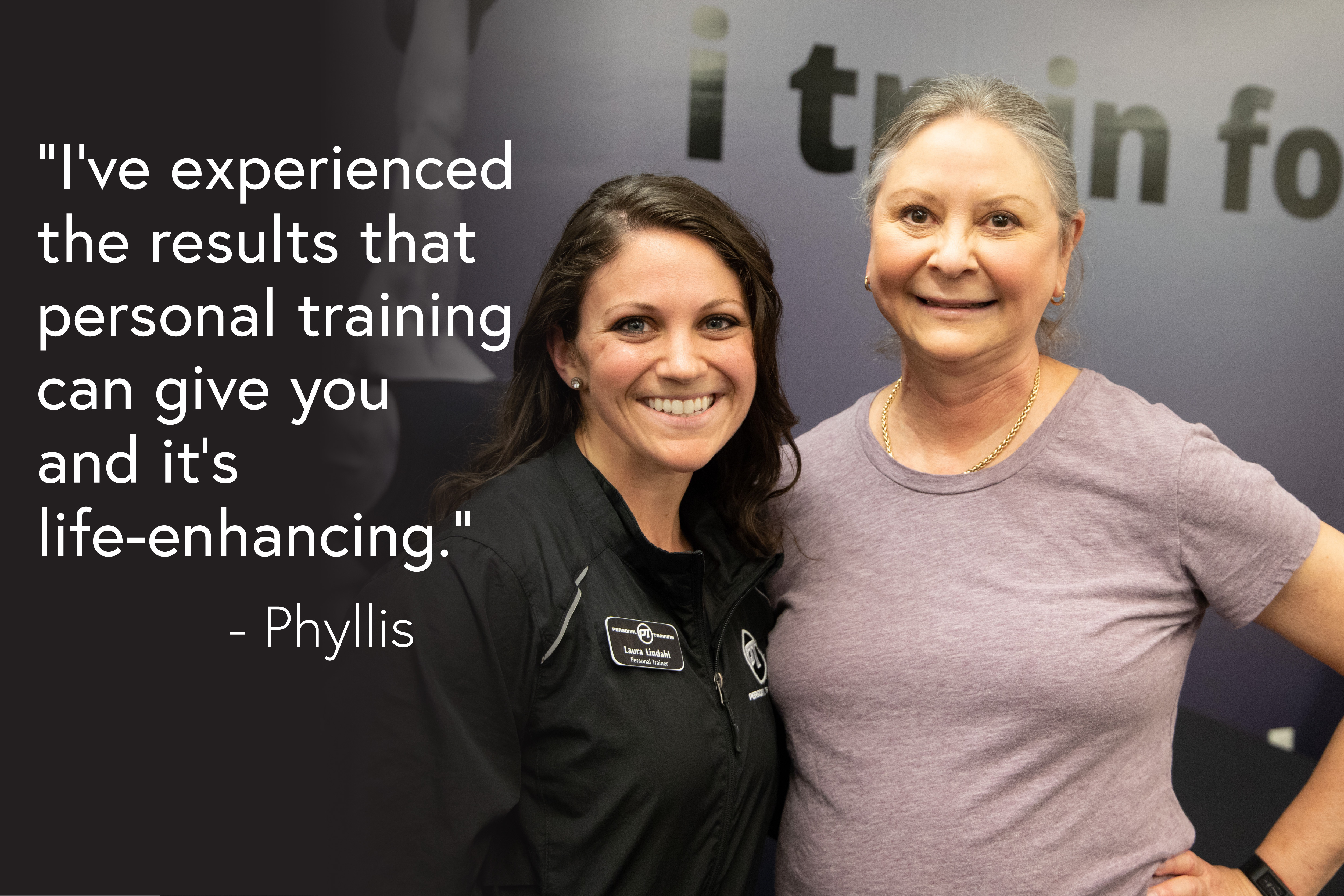 Phyllis Testimonial