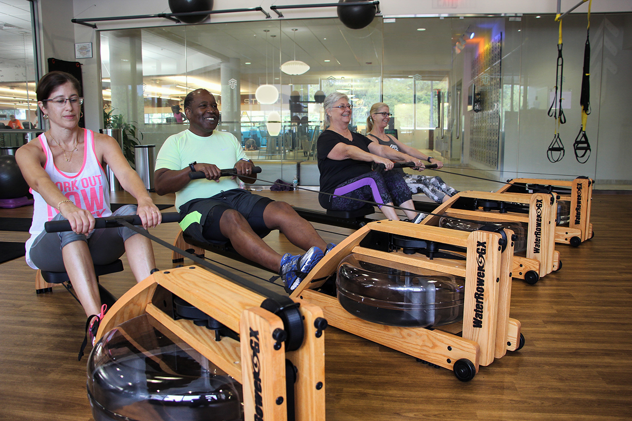 tribe hiit rower