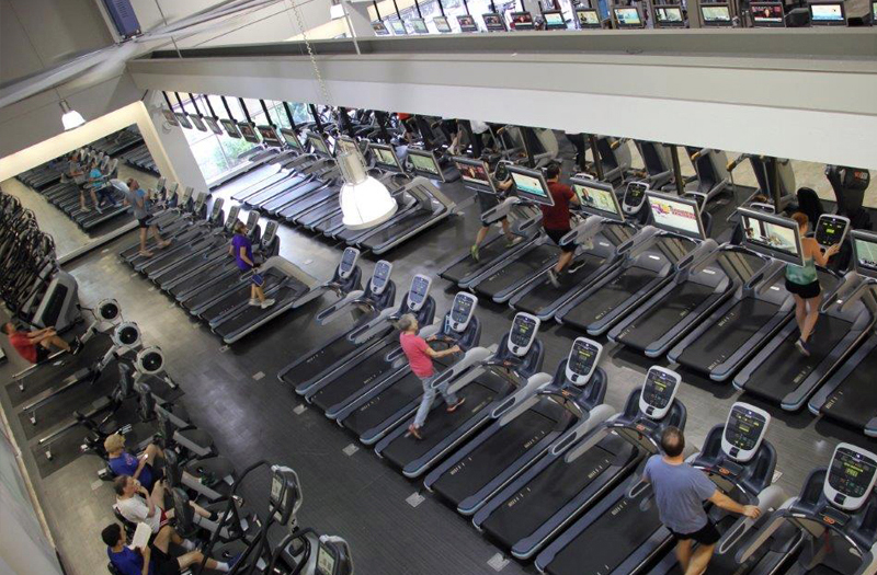 Main Center Treadmills