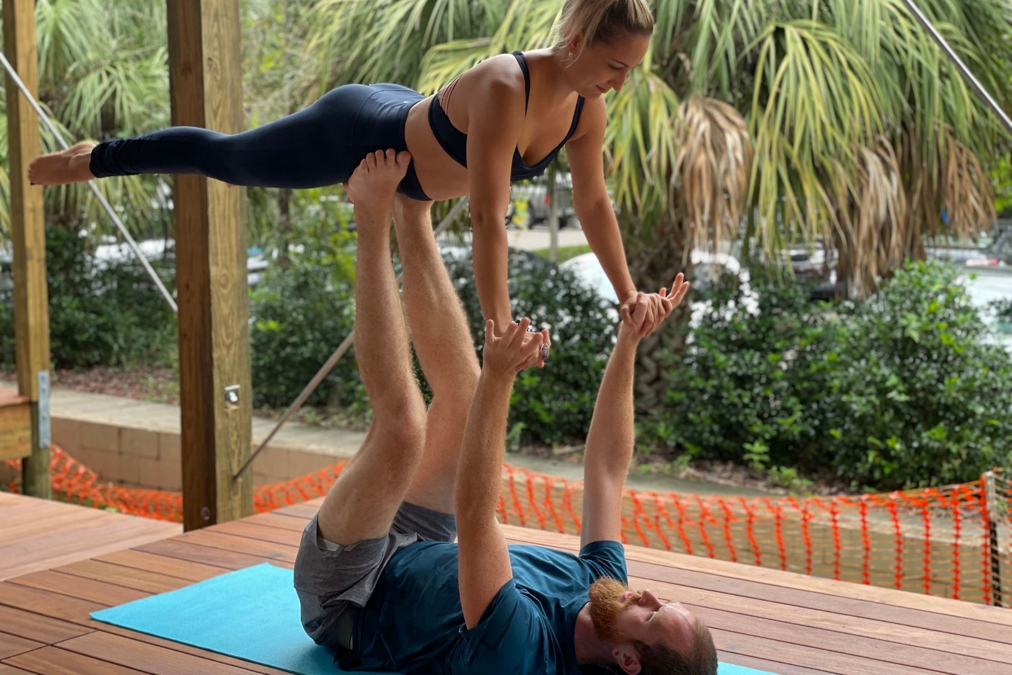 couples yoga workshop