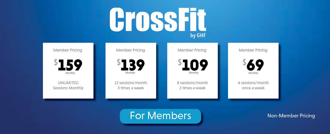 GHF CrossFit Pricing