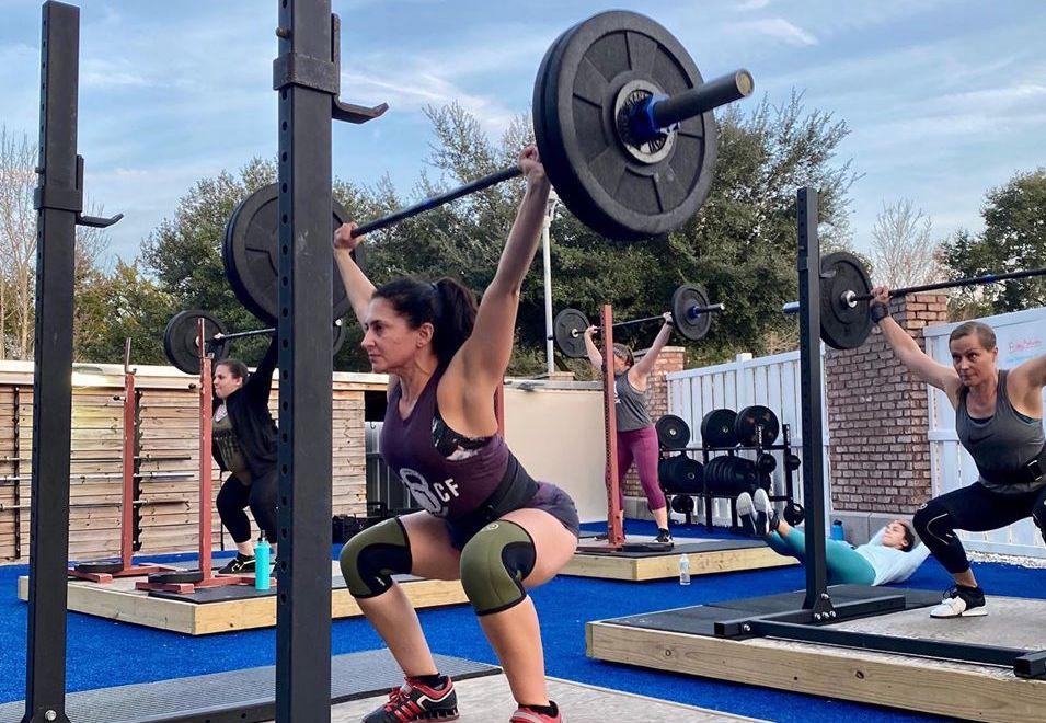 squat rack weight training gym