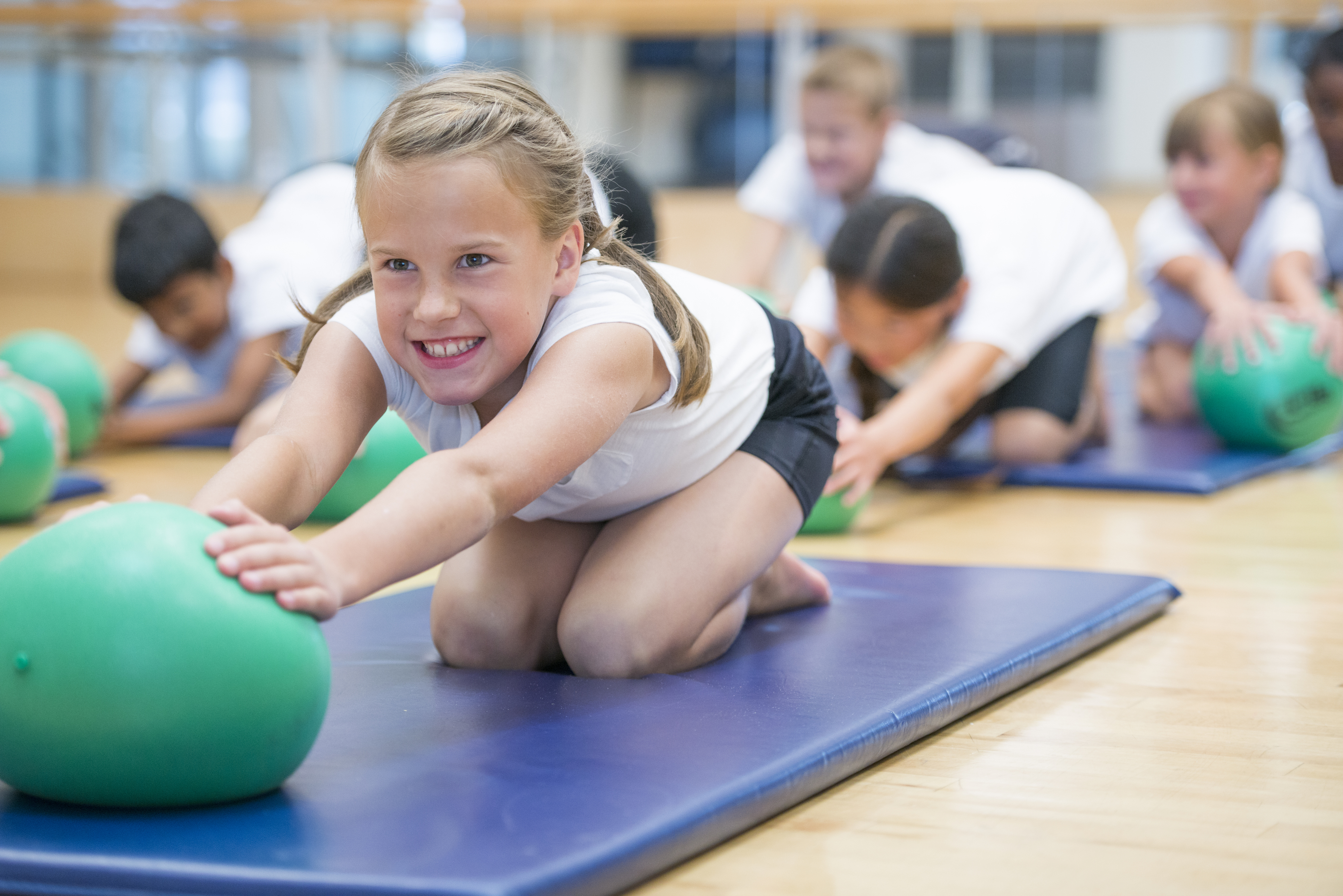 Kids fitness at GHF
