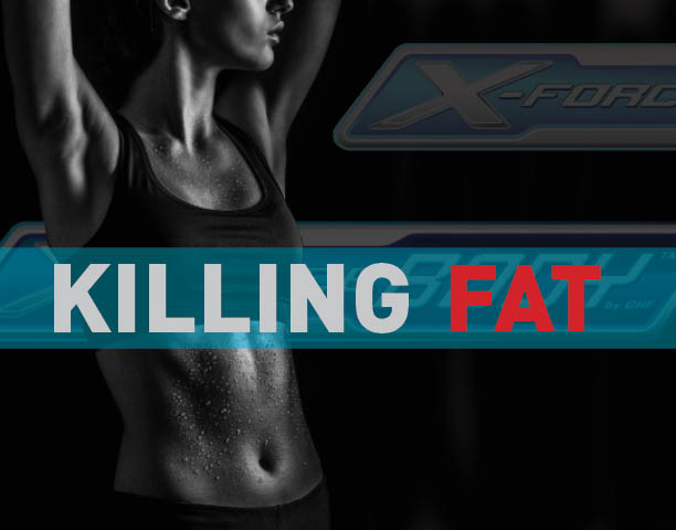 woman fat loss and muscle gain