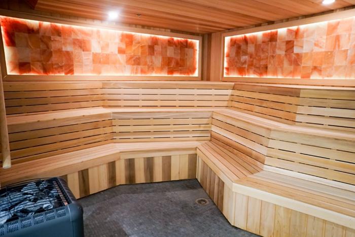 Sauna at GHF