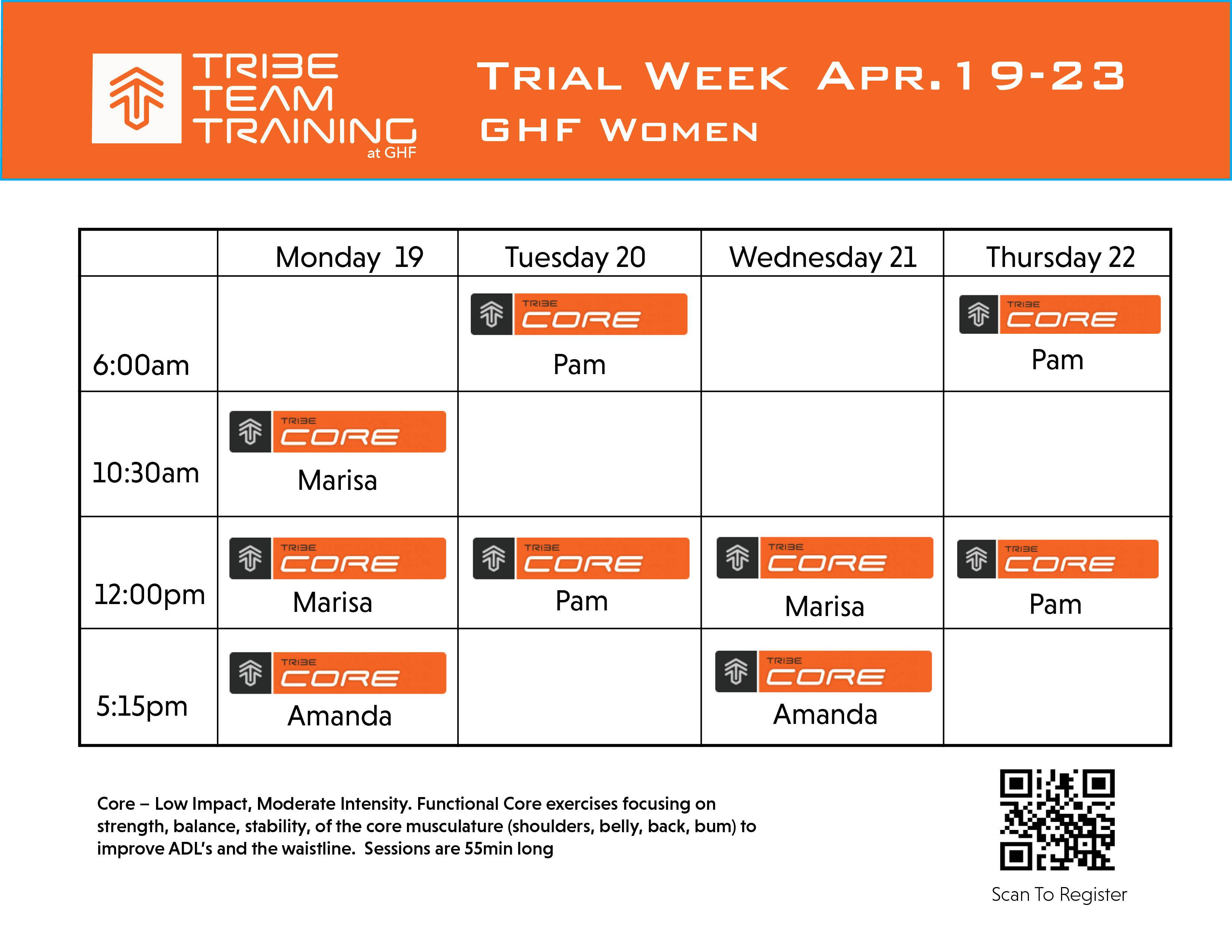 trial week