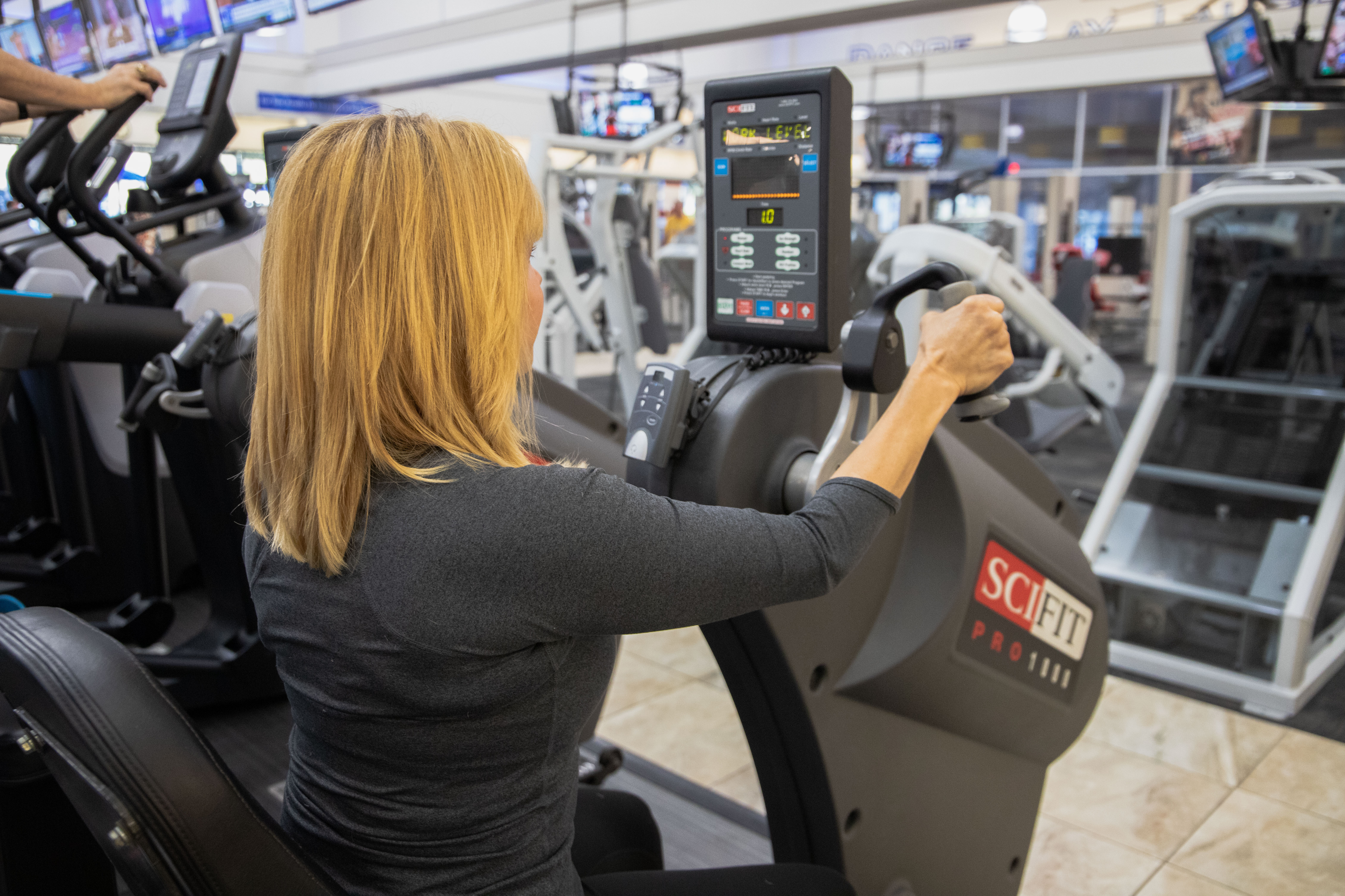 UBE  cardio machine